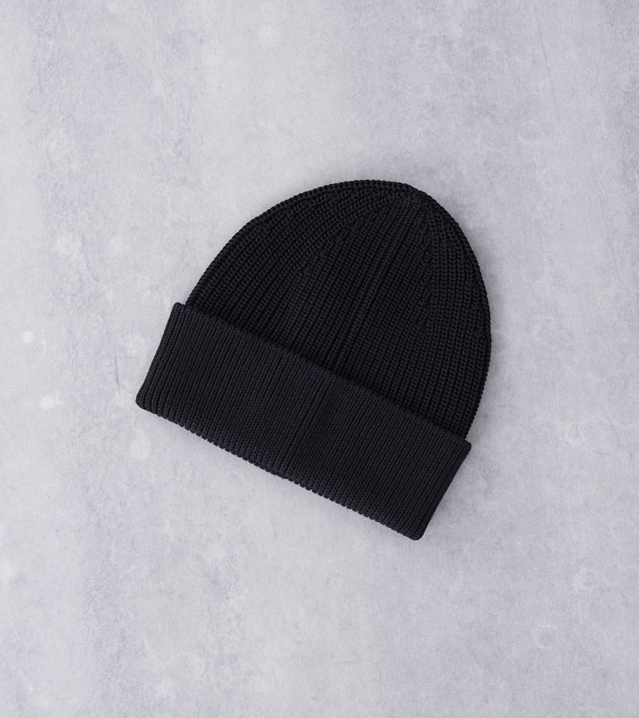 Andersen-Andersen Cotton Beanie - Black Division Road