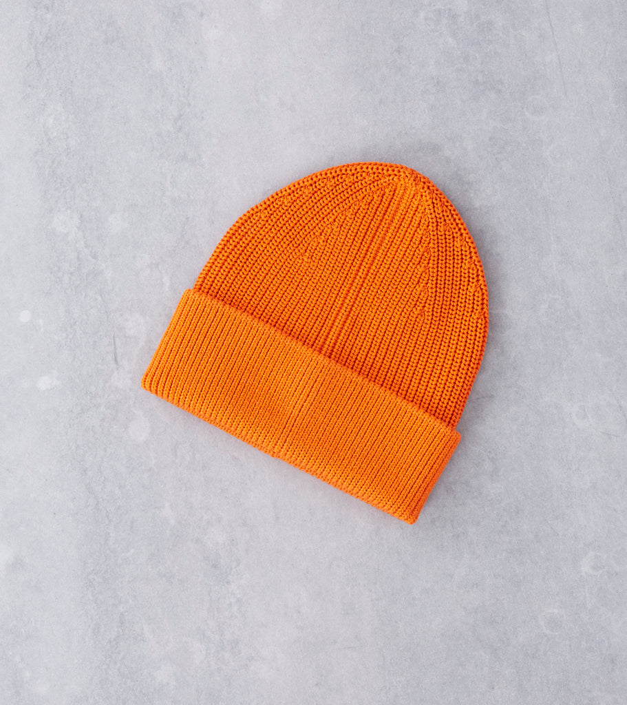 Andersen-Andersen Cotton Beanie - Orange Division Road