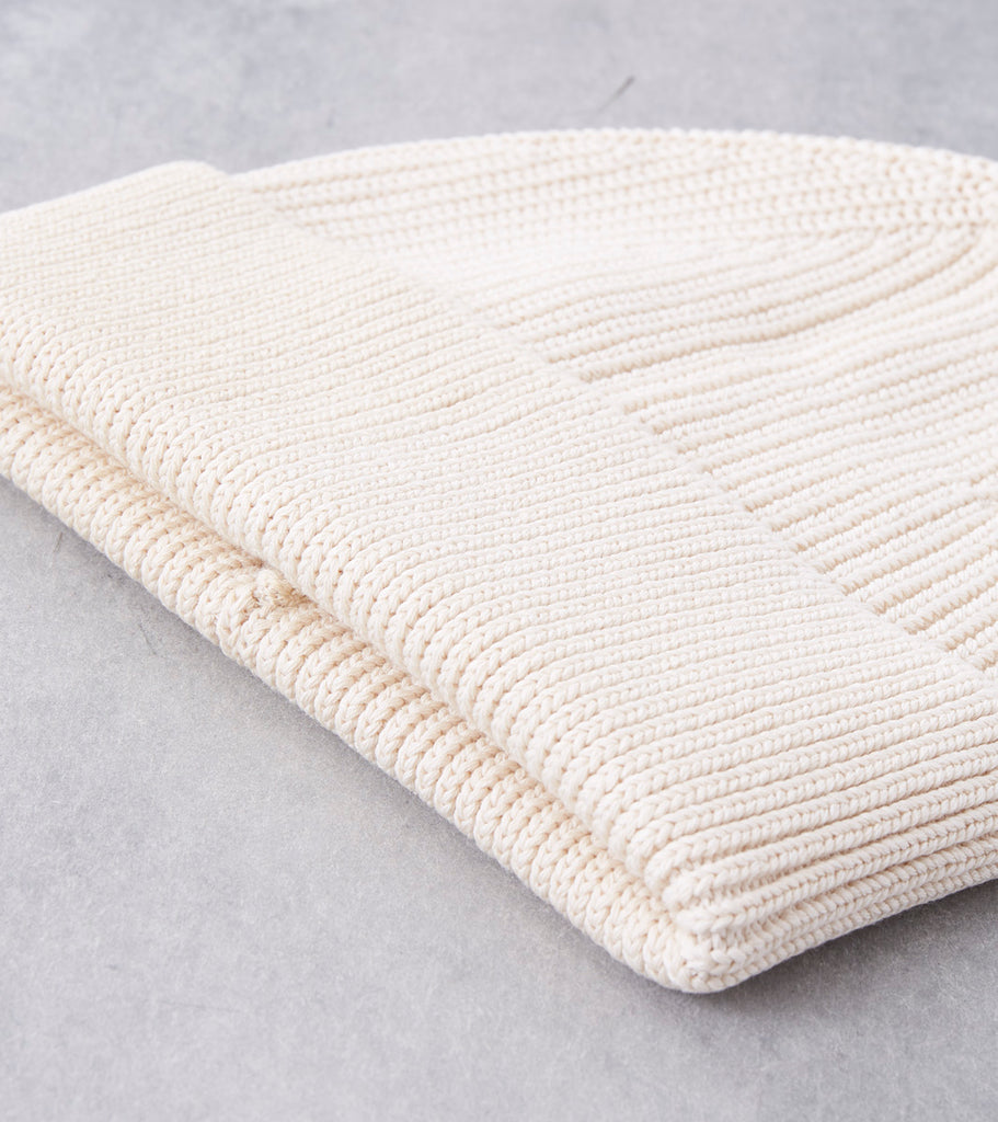 Andersen-Andersen Cotton Beanie - Raw Division Road