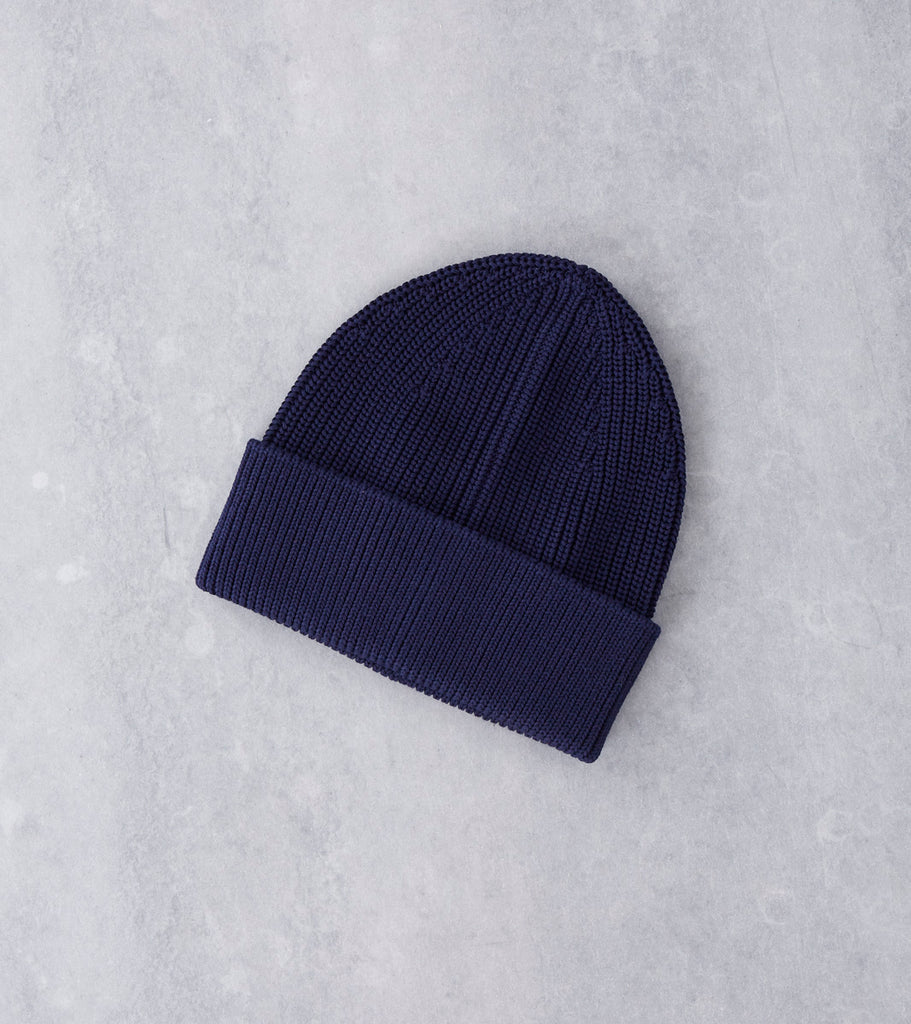 Andersen-Andersen Cotton Beanie - Royal Blue Division Road
