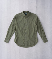 Gitman Vintage Japanese Washer Cloth - Olive Division Road
