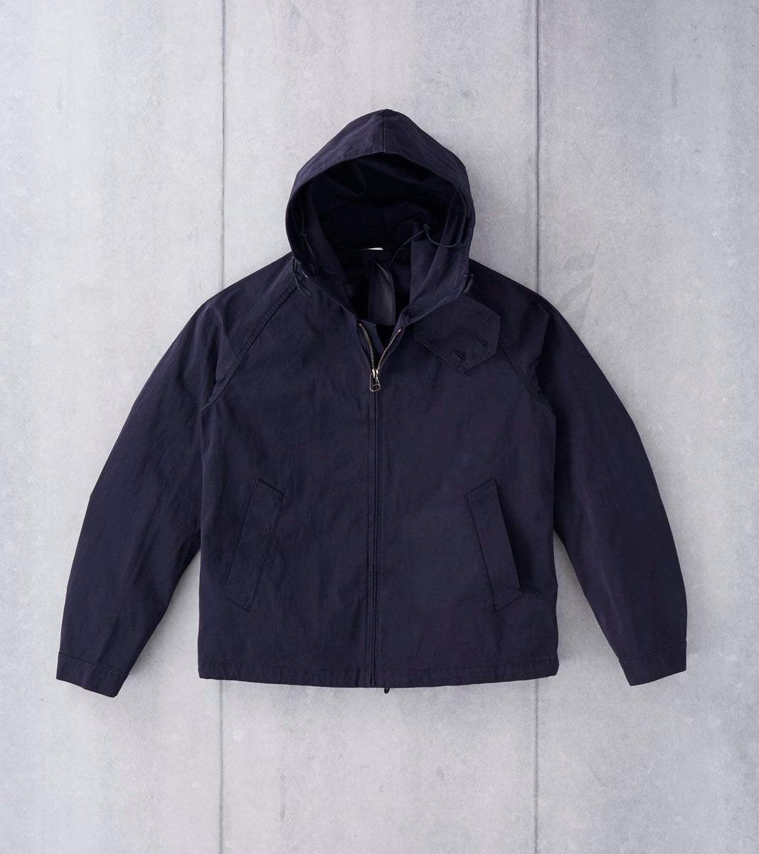 1fd5570f ... Ten C OJJ Anorak Jacket - Dark Navy Division Road ...