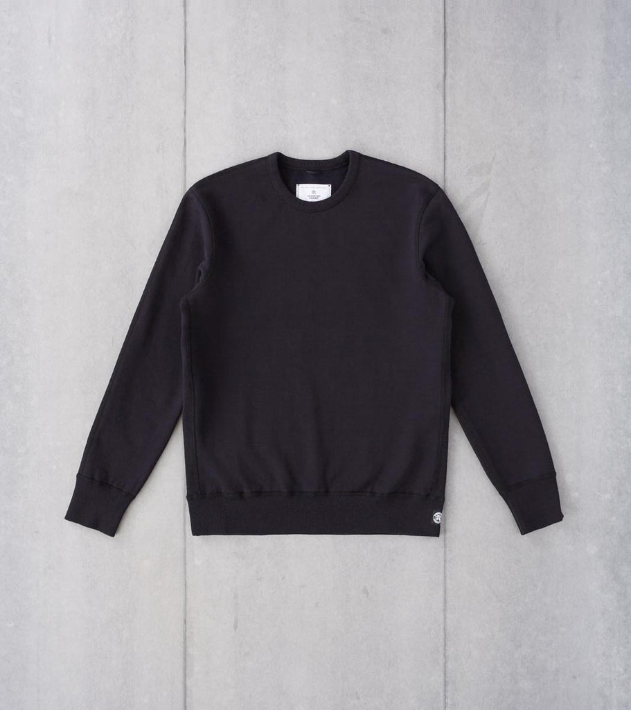 Division Road Reigning Champ Heavyweight Fleece Crewneck Sweatshirt - Black