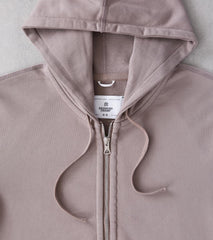 Division Road Reigning Champ Full Zip Hoodie - Silt