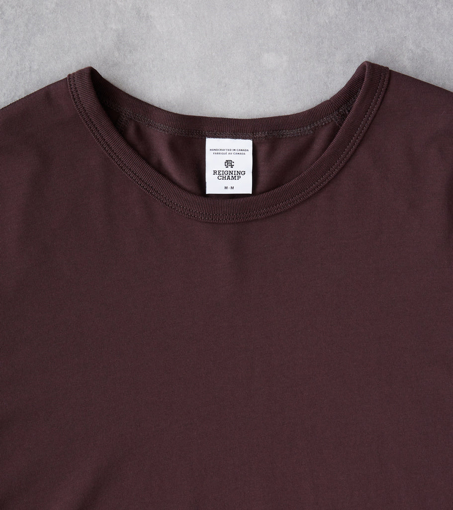 Division Road Reigning Champ Long Sleeve Tee - Dusk