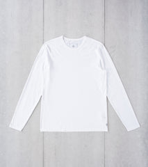 Division Road Reigning Champ Long Sleeve Tee - White