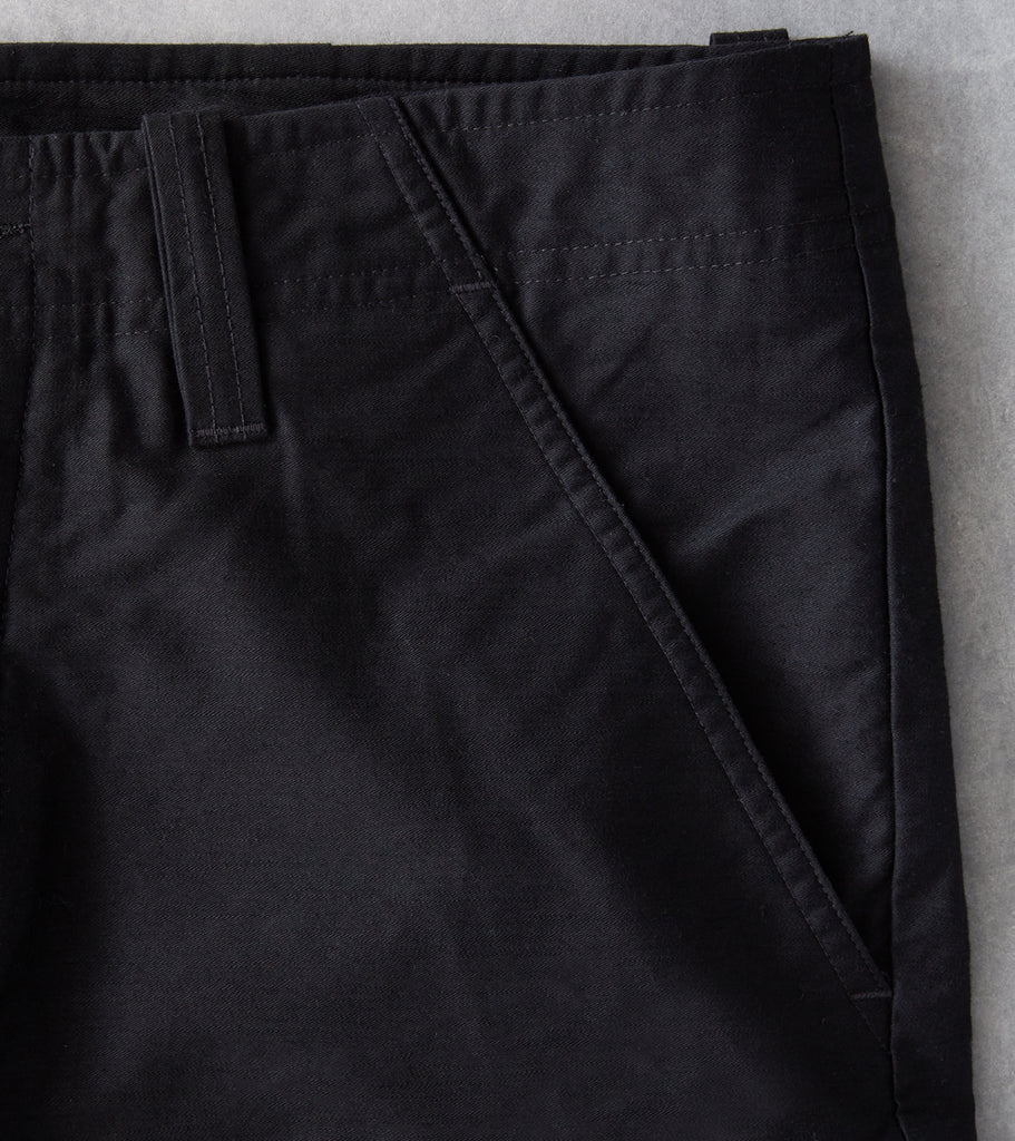 Division Road wings + horns Utility Cotton BDU Cargo Pant - Black