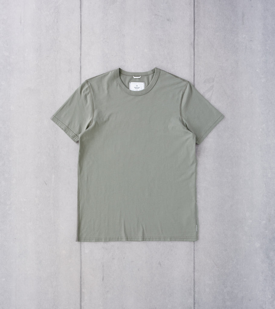 Reigning Champ Short Sleeve Tee - Sage Division Road