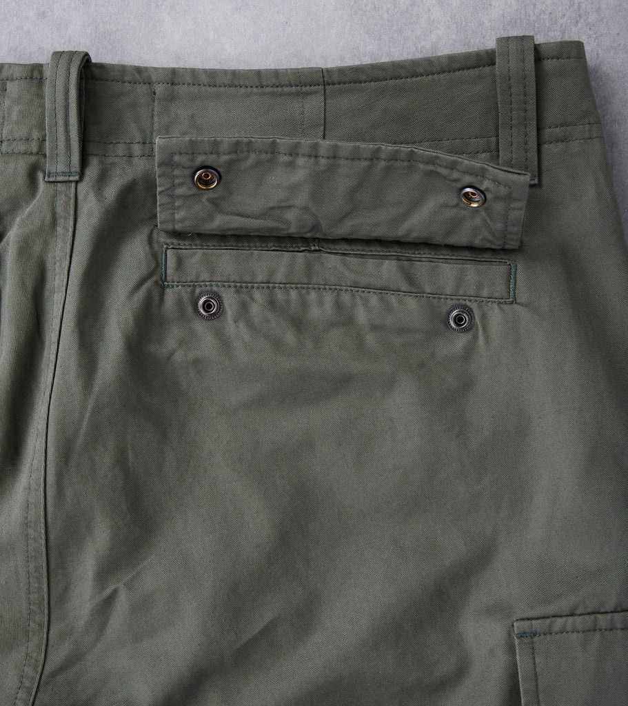 wings + horns Utility Linen BDU Cargo Pant - Olive Division Road