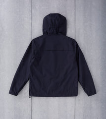 Still By Hand Hooded Jacket - Navy Division Road