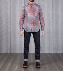 Gitman Vintage Archive Plaid - Blue & Yellow Division Road