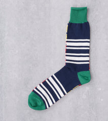 Anonymous Ism Diffa Crew Sock - Green Division Road