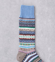 Chup Socks - Terio - Stone Blue Division Road