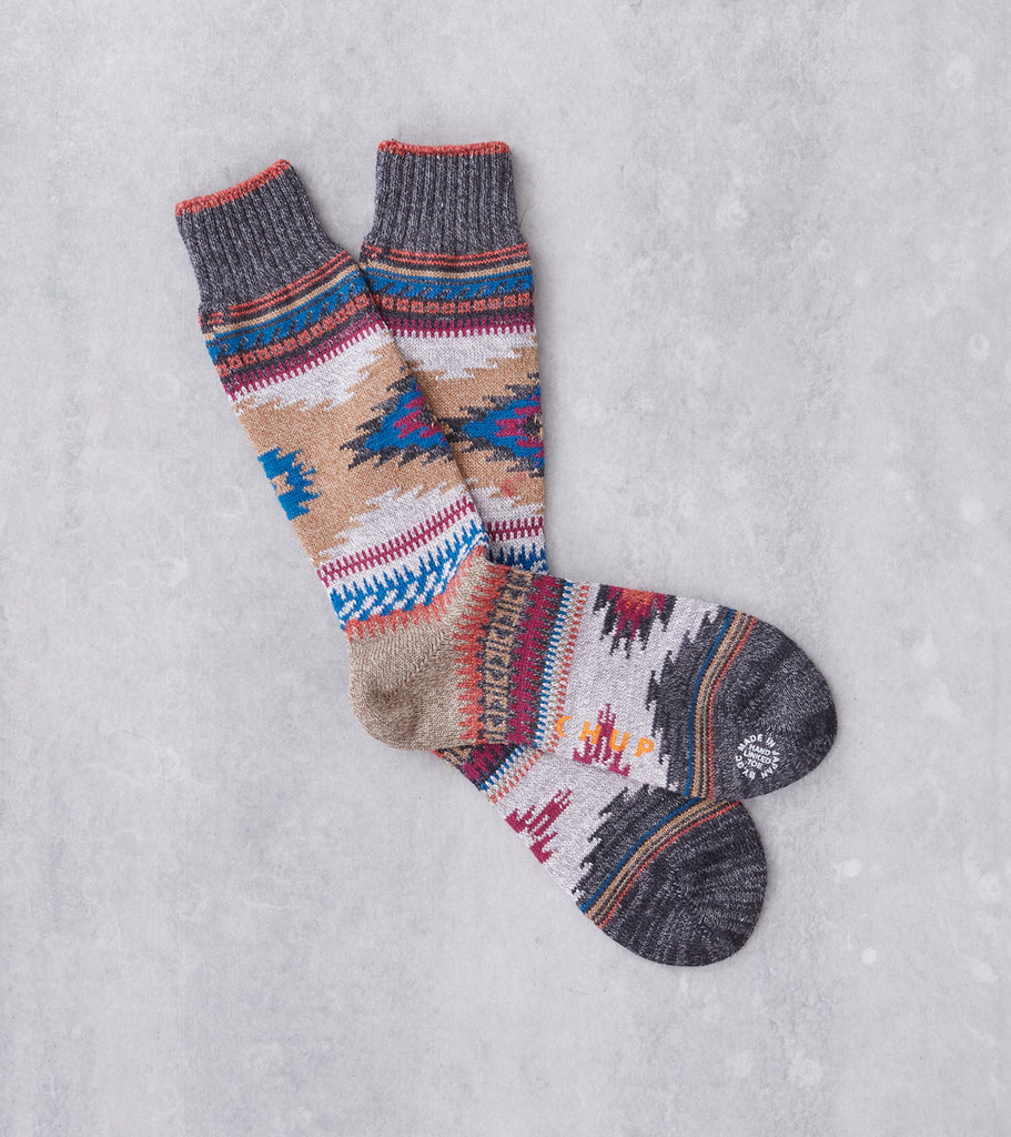 Chup Socks - Niyol - Charcoal Division Road