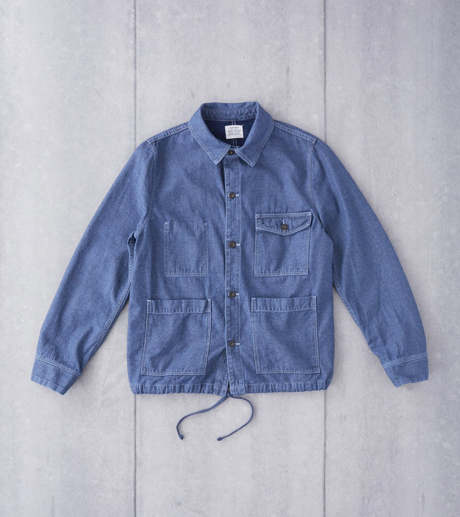 Home Work Denim Work Jacket - Storm Blue Division Road