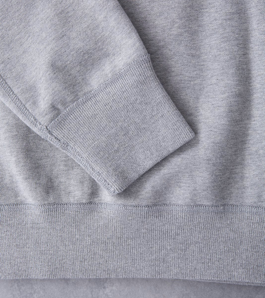 Reigning Champ Crewneck Sweatshirt - Heather Grey