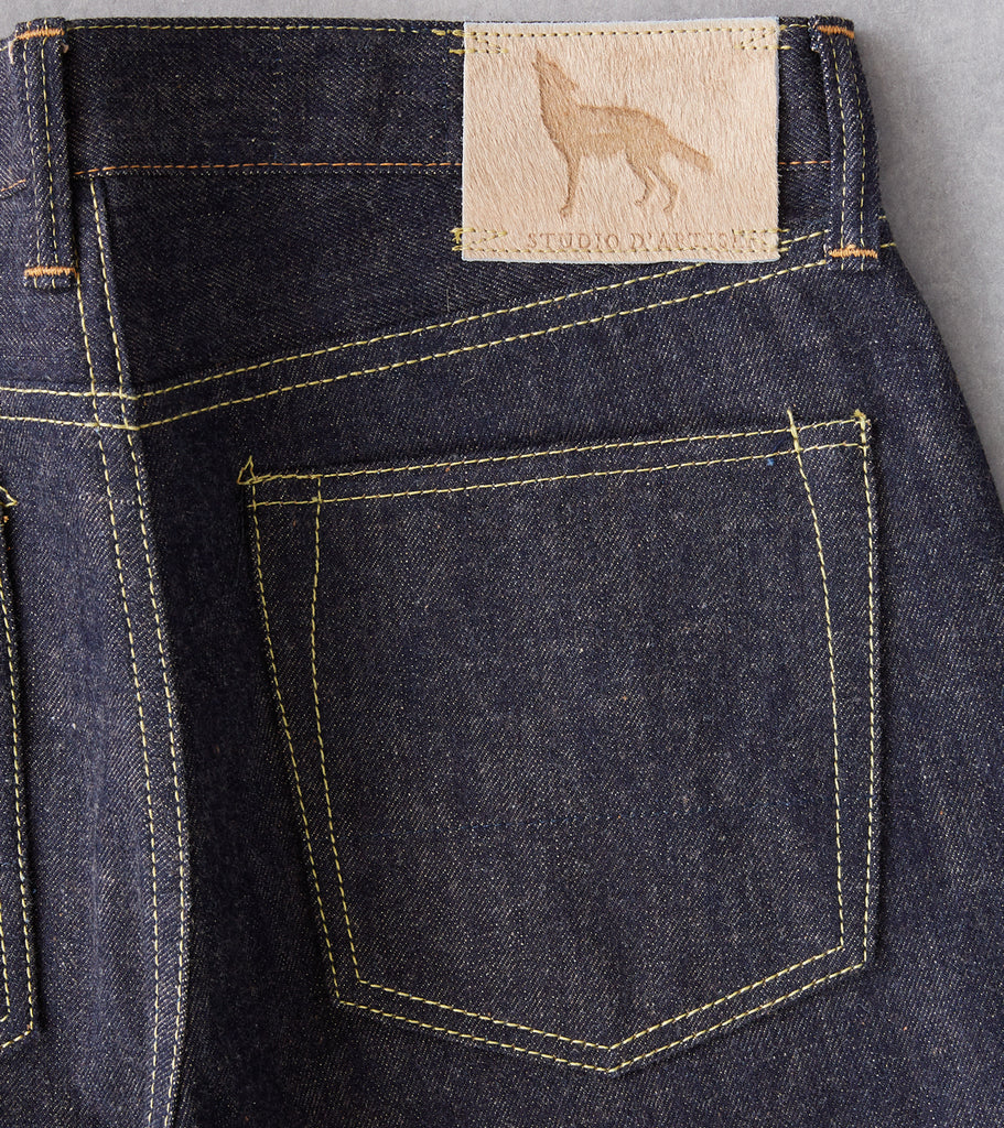 Division Road Studio D'Artisan - FOX-001 - Relaxed Tapered Coyote Fox Cotton