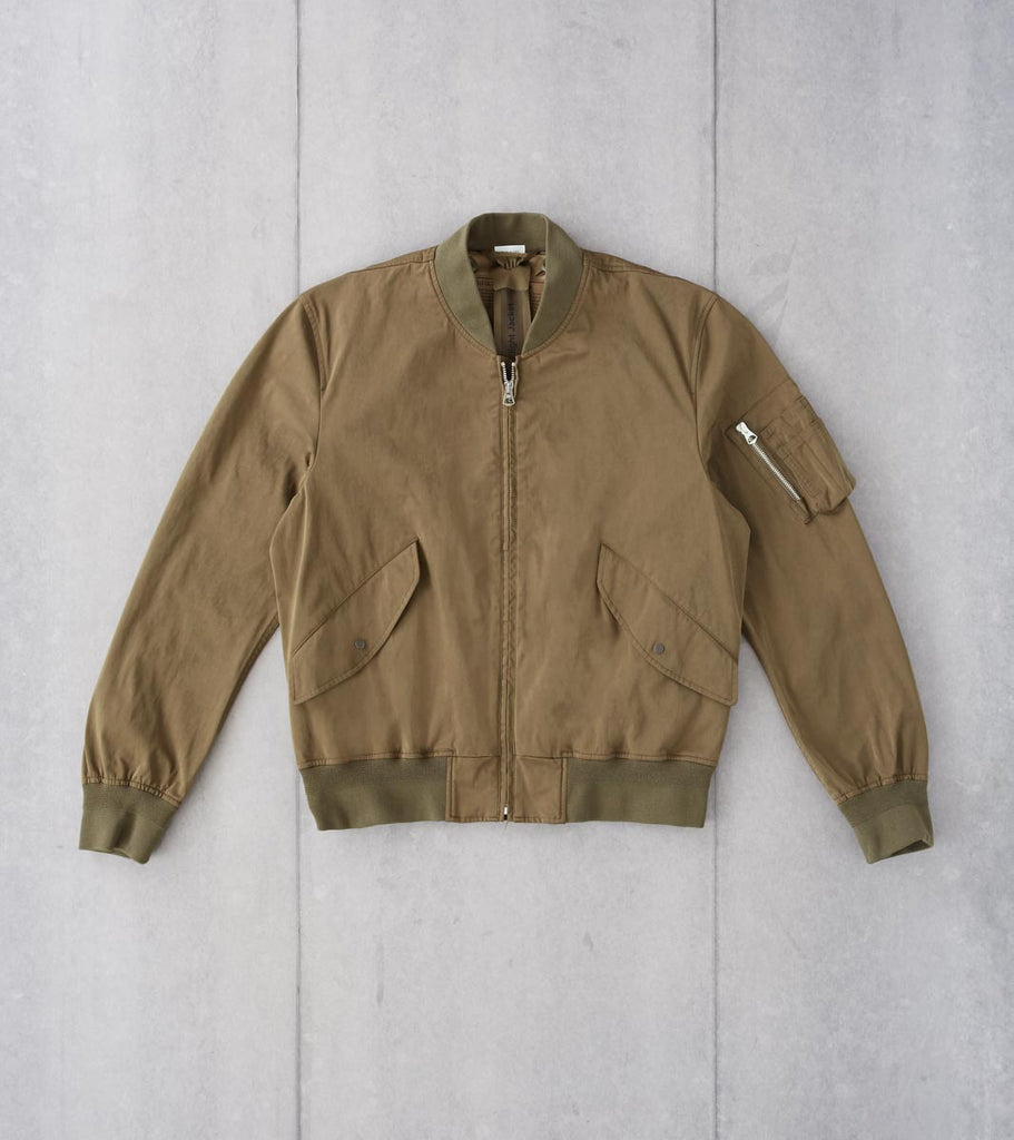 Division Road Ten C OJJ Flight Jacket - Olive