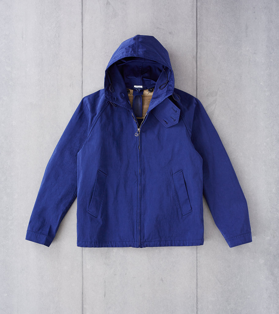 Division Road Ten C OJJ Anorak Jacket - Navy Blue