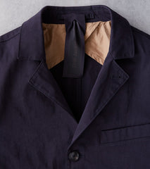 Ten C OJJ Drill Jacket - Dark Navy Division Road