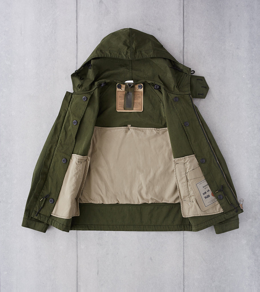 Division Road Ten C OJJ Anorak Jacket - Dark Green