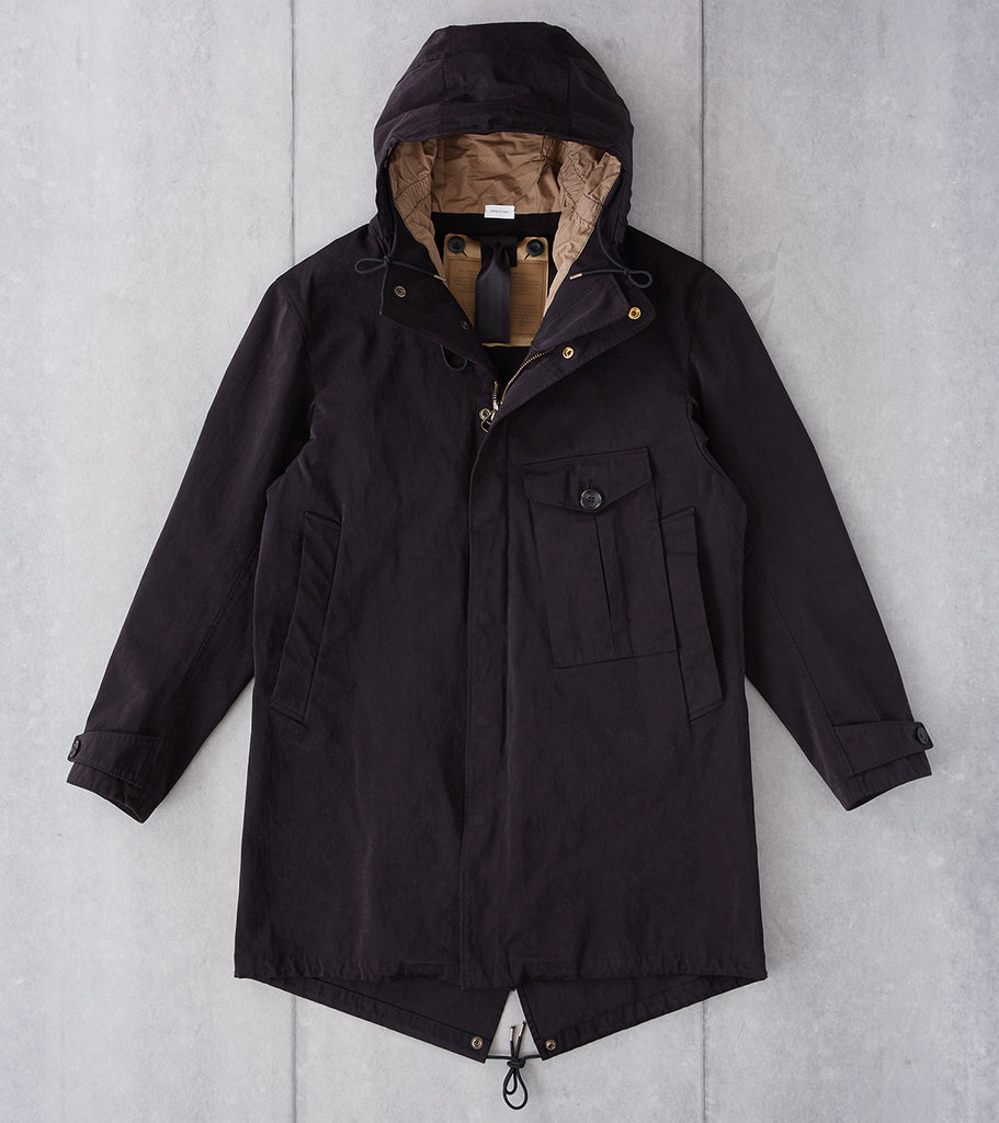 Division Road Ten C OJJ Cyclone Parka - Black