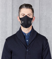 U-Mask x Division Road Model Two Face Mask - DRA Black