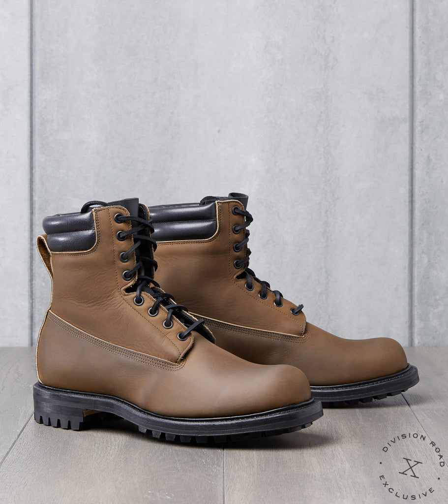 Viberg x Division Road Hiking Hunter - 2040 - Commando – Mushroom Chamois