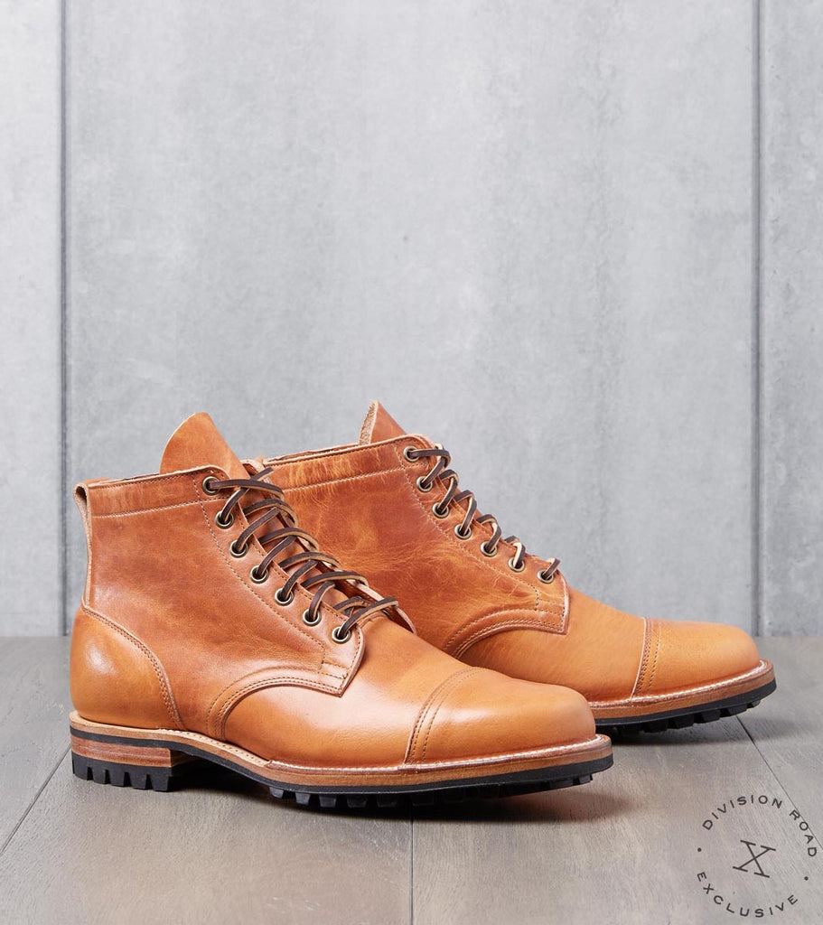 Division Road Viberg Service Boot - 1035 - Commando - Natural Dublin