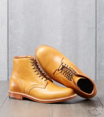 Division Road Viberg x DR Officer Boot - 2030 - Leather - Shinki Camel Latigo Horsehide