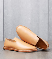 Viberg Slipper - 2010 - Leather - Natural Japanese Calf Division Road