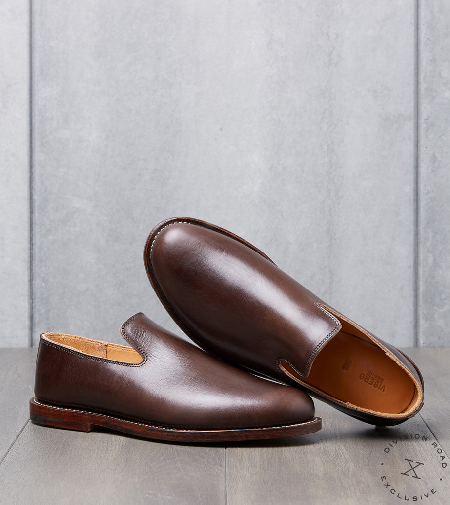 Viberg x Division Road Slipper - 2010 - Leather - Port Glazed Calf