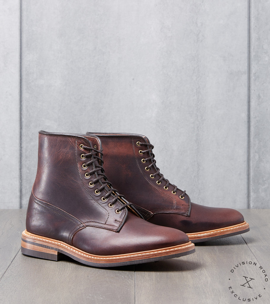 Division Road Tricker's Tramping Boot - Dainite - Horween Color 8 Dublin