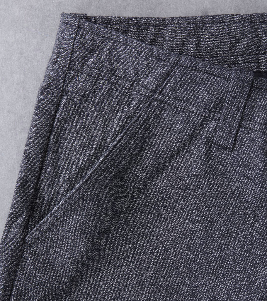 wings+horns Static Twill Pant - Marled Black Division Road