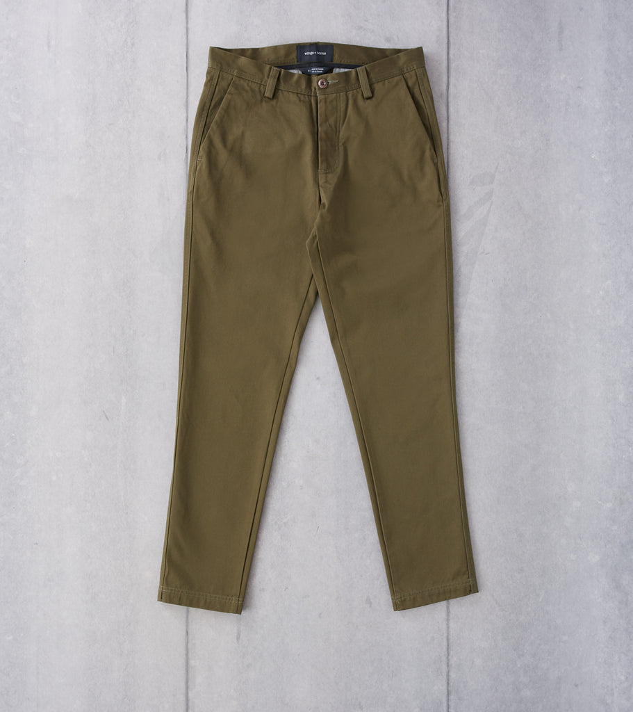 wings+horns Tokyo Pant - Olive Division Road