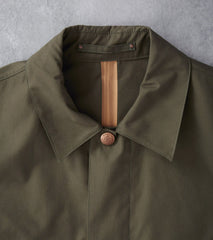 Private White V.C. Unlined Ventile Mac - Olive - Division Road