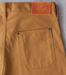 Shockoe Atelier Field Trouser - Selvedge Duck - Coyote Division Road