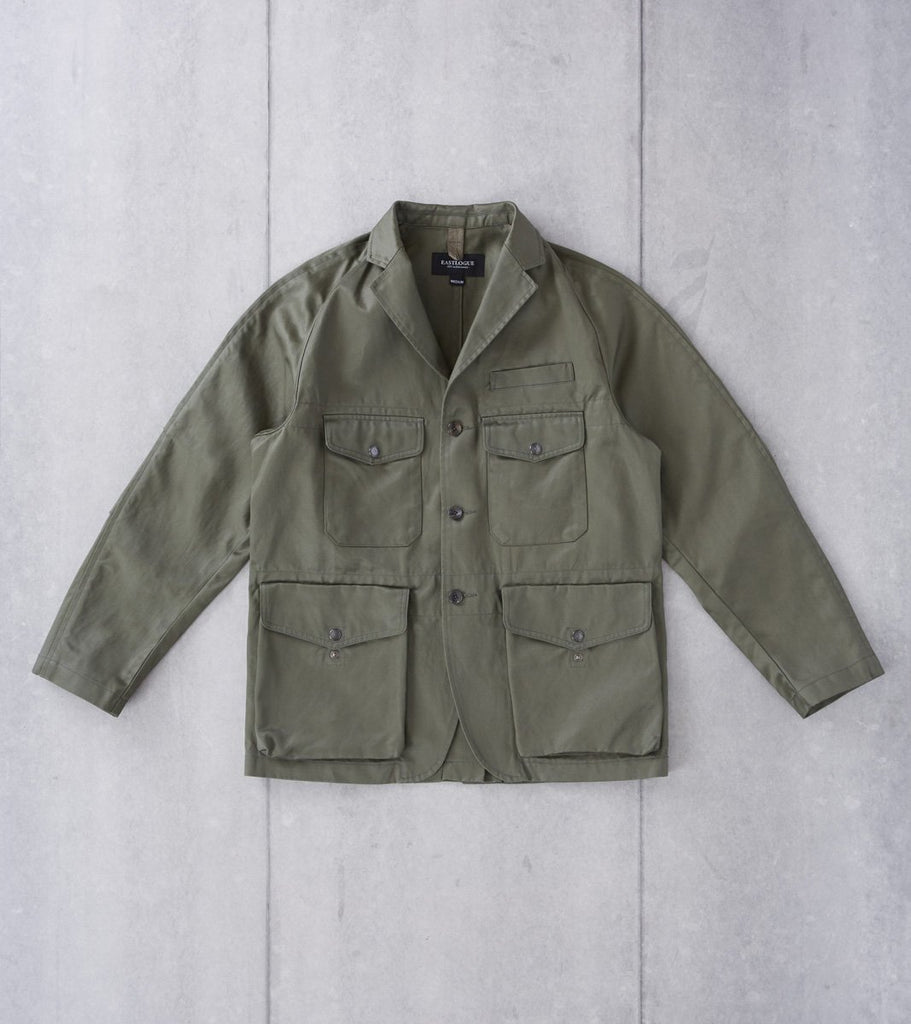 Eastlogue Trekking Jacket - Olive Twill Division Road