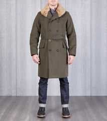 Archive Jeep Coat - Olive Battle Twill
