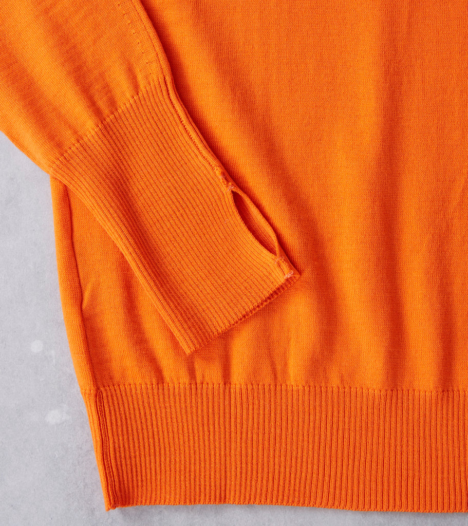 Andersen-Andersen Light Wool Turtleneck - Orange Division Road