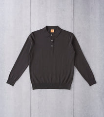 Andersen-Andersen Light Wool Polo - Hunting Green - Division Road