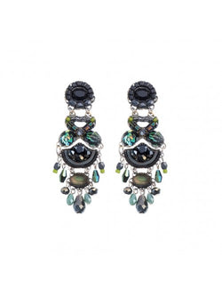 Midnight Voodoo Miranda Earrings