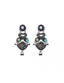 Midnight Voodoo Pandora Earrings
