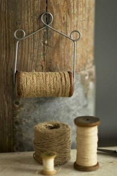 Jute Wire Holder Spool