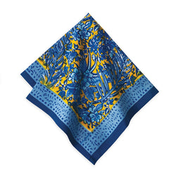 Bougainvillea Yellow and Blue Napkins