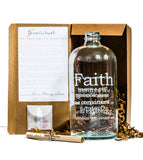 Faith Clear Apothecary Jar