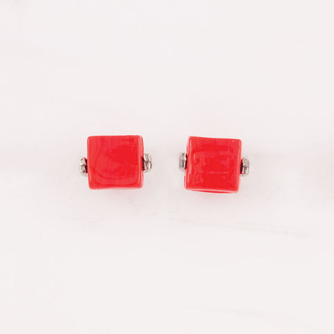 Benara Red Earrings