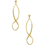 Flynn Marquise Hoop Earrings