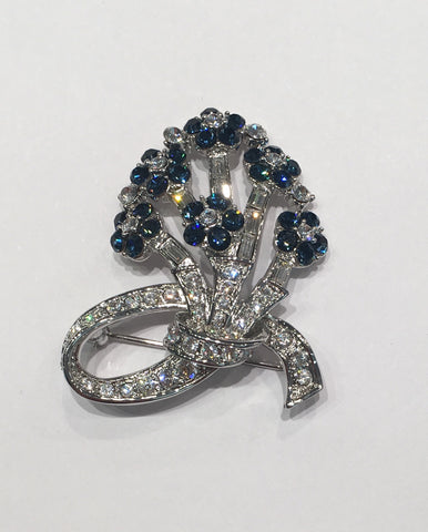 Jacqueline Kennedy Collection Camrose & Kross Blue Stone Pin