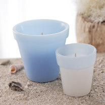 Blue Rim Pot Ocean Breeze